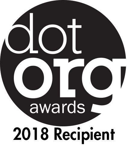 dot.org badge, 2018 recipient