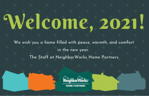 Welcome, 2021 greeting card image