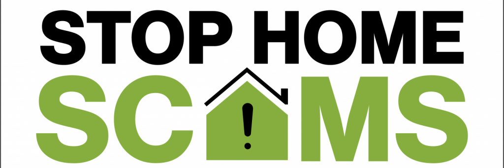 Stop Home Scams logo